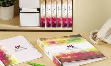 Designer view Binders