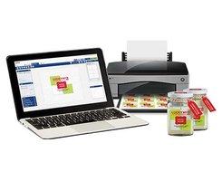 Custom product label printing