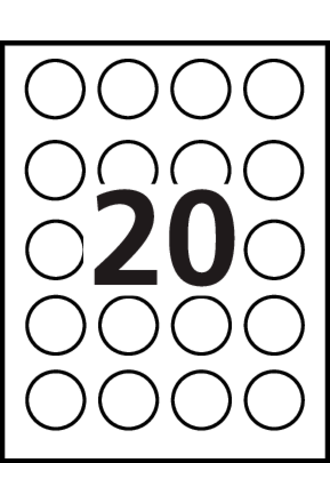 Avery high visibility round labels 8293 template 20 labels avery high visibility round labels 8293 word template pronofoot35fo Gallery