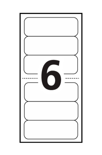 Avery mini sheet mailing labels 02162 template 6 for Labels by the sheet templates