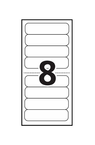 avery mini sheet mailing labels 02160 template 8