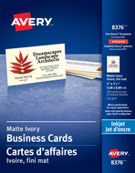 Avery<sup>&reg;</sup> Micro-Perforated Business Cards 8376