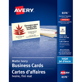 Avery® Micro-Perforated Business Cards