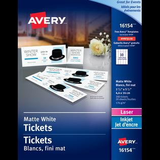 Avery® Tickets