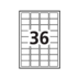 Avery<sup>&reg;</sup> Étiquettes Polyvalentes Amovibles Imprimer ou Écrire - Avery<sup>&reg;</sup> Étiquettes Polyvalentes Amovibles