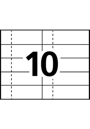 avery u00ae tickets with tear-away stubs - stub on left - 16154 - template