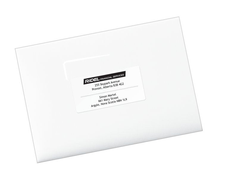 Avery 48863 Eco Friendly Shipping Labels 2 X 4 Rectangle White