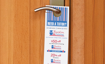 Small Business door hangers