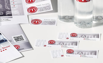Business Events Raffle Ticket