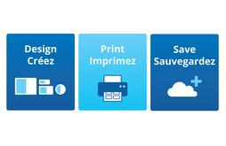 Design, Print, Save