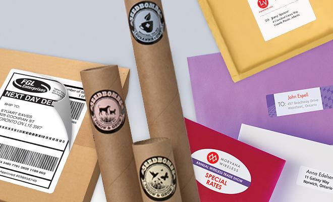 étiquettes standards, durables, imperméables, d'avertissement et plus
