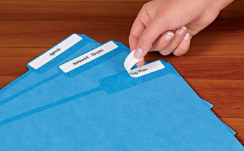 School File Folder Labels