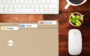 Home File Folder Labels