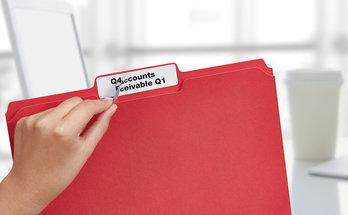 Office File Folder Labels