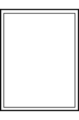 Avery® 17580 - Gabarit