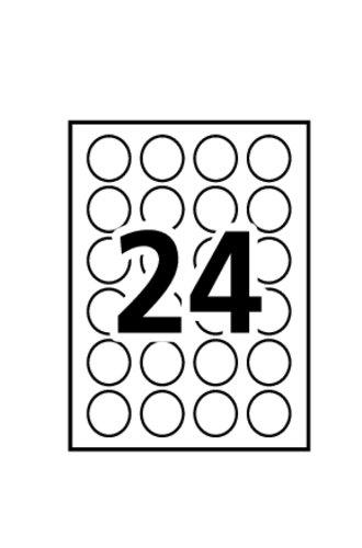 Avery® 5472 - Gabarit