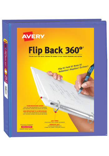 Avery<sup>&reg;</sup> Flip Back&reg; 360° Binder 1