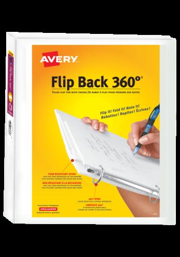Avery<sup>&reg;</sup> Reliure de présentation Flip Back 360&deg; - Avery<sup>&reg;</sup> Reliure de présentation Flip Back 360&deg; Durable