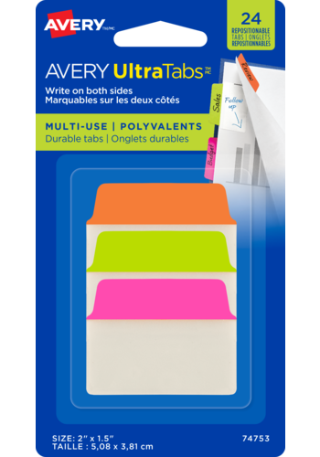 Avery UltraTabs™ Multi-Use 2