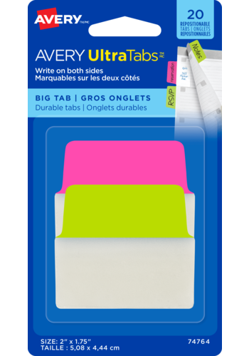 Avery UltraTabs<sup>MC</sup> - Gros onglets 2