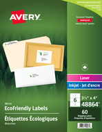 Avery<sup>&reg;</sup> Eco-Friendly Shipping Labels 48864