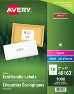 Avery<sup>®</sup> Eco-Friendly Shipping Labels 48163