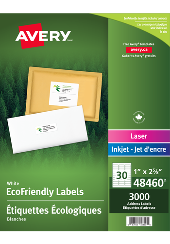 Avery<sup>®</sup> Eco-Friendly Address Labels - Avery<sup>®</sup> Eco-Friendly Address Labels