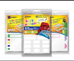 Kids ID Labels