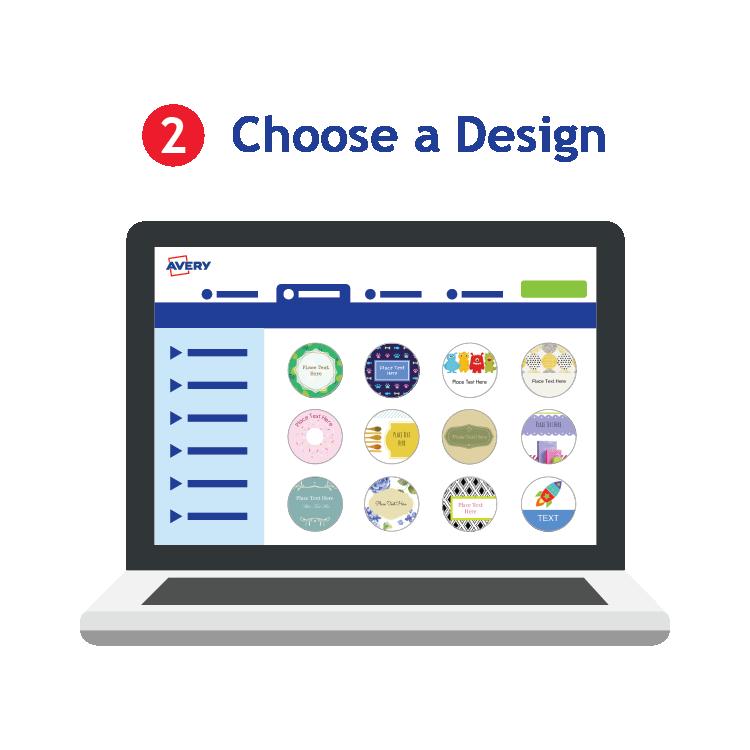 avery label design pro mac