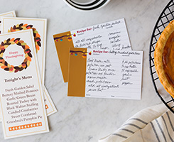 Thanksgiving Pre-designed Templates