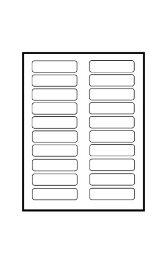 Avery tabbed bookmark plastic dividers 5 tab 24910 for Tab templates for word