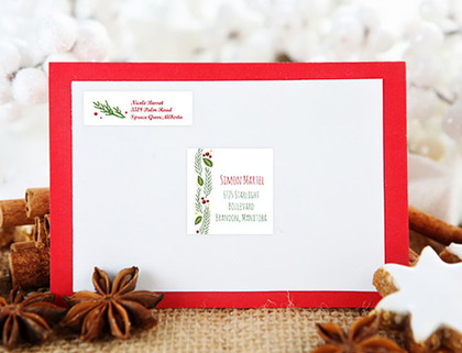 Holiday Mailing in Minutes