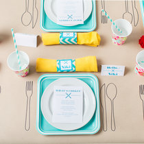 Colour-Your-Own Place Settings for Tiny Party Guests