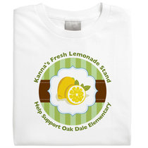 Serve Up Lemonade in Style with Customized T-shirts