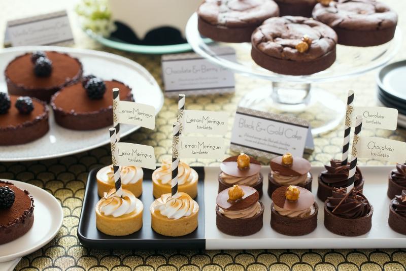 Art Deco Dessert Buffet  Cards