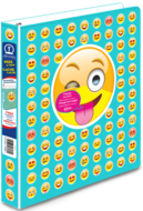 Avery<sup>&reg;</sup> Peek A View Emoji Binder  17698