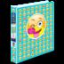 Avery<sup>&reg;</sup> Peek A View Emoji Binder  - Avery<sup>&reg;</sup> Peek A View Binders