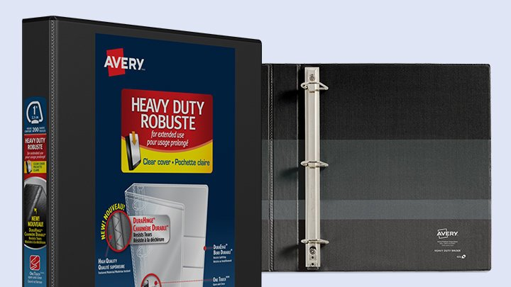 Heavy Duty Binders