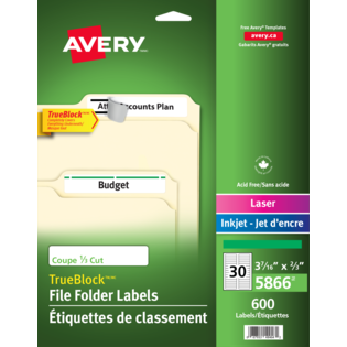 Avery® Filing Labels