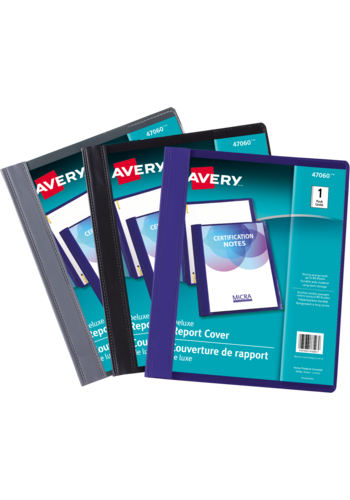 Avery<sup>&reg;</sup> Deluxe Report Covers - Avery<sup>&reg;</sup> Deluxe Report Covers