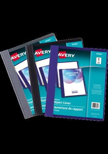 Avery<sup>®</sup> Couverture de Rapport de luxe - Avery<sup>®</sup> Couverture de Rapport de luxe