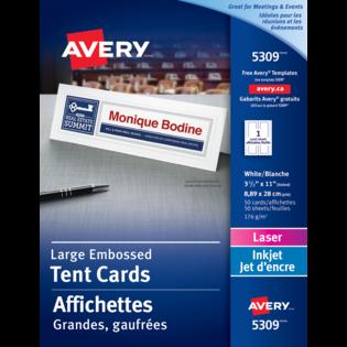 Avery® Affichettes Grandes