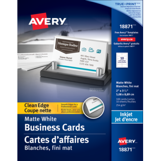 Avery® Clean Edge Business Cards
