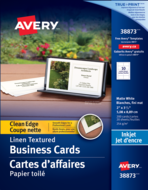 Avery<sup>®</sup> Clean Edge Business Cards 38873