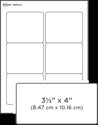 Custom Printed Shipping Labels