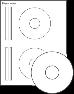 Étiquettes pourCD imprimées personnalisées