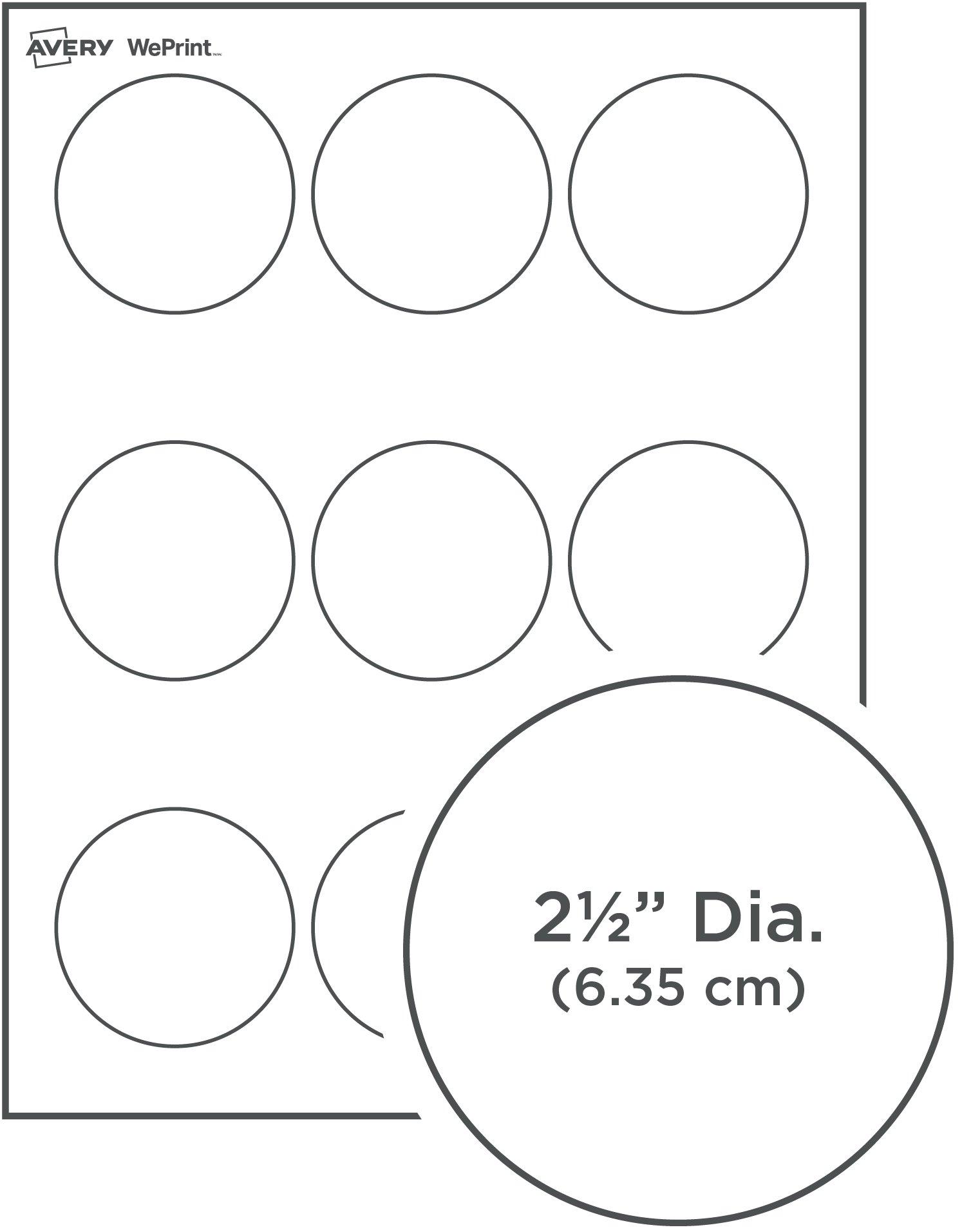 Préférence Étiquettes Rondes BZ33