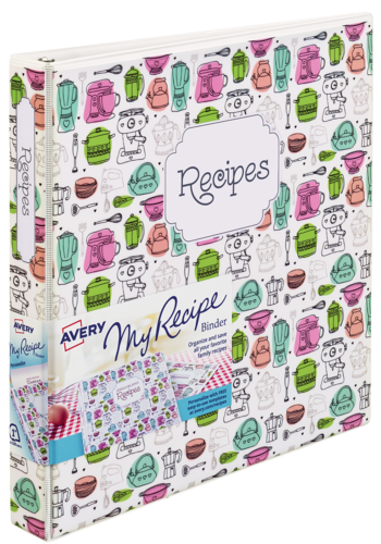 Avery<sup>&reg;</sup> Ma reliure de recettes Cuisine vintage - Avery<sup>&reg;</sup> Ma reliure de recettes