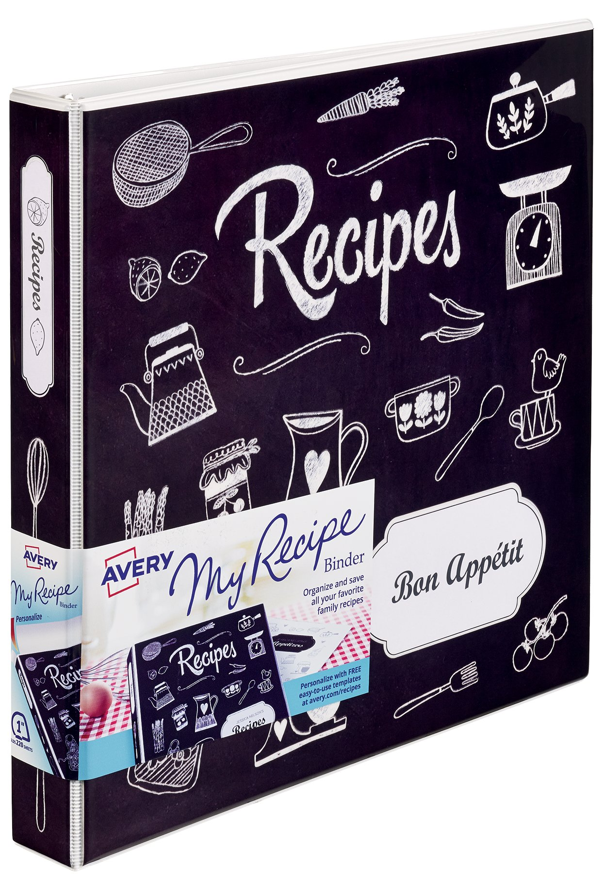 My Recipe Binders Avery - Avery recipe template