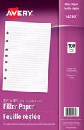 Avery<sup>&reg;</sup> Filler Paper 14230